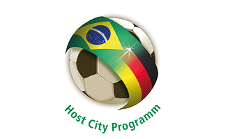 Logo des Host City Programms